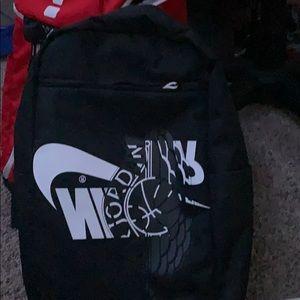 A Nike Jordan backpack